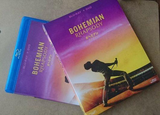 映画ボヘミアンラプソディのDVDとパッケージ